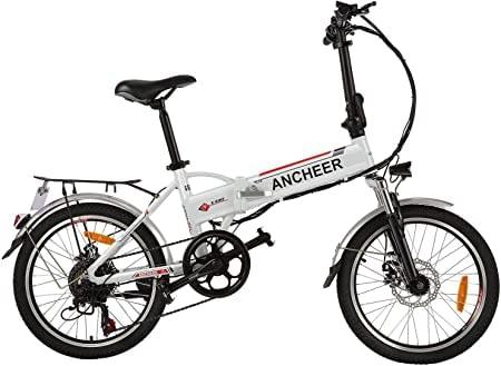 Ancheer Electric Bike Range