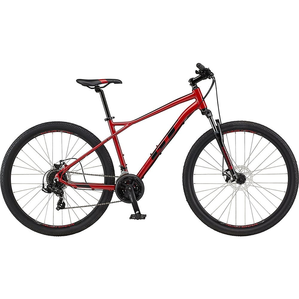 GT Aggressor Sport Hardtail Bike 2021 - Red - XS, Red