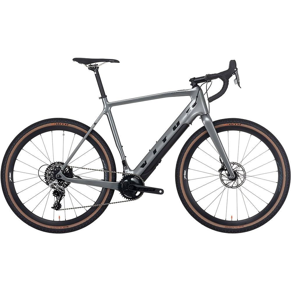 Vitus E Substance Carbon E Adventure Bike 2021 - Anthracite - M, Anthracite