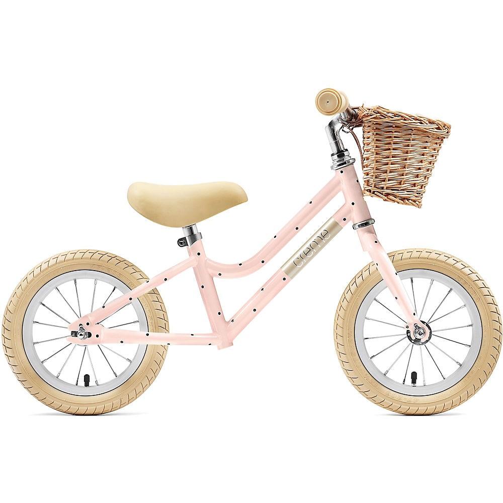 """Creme Mia Balance Bike 2021 - Pale Peach - 12"""", Pale Peach"""