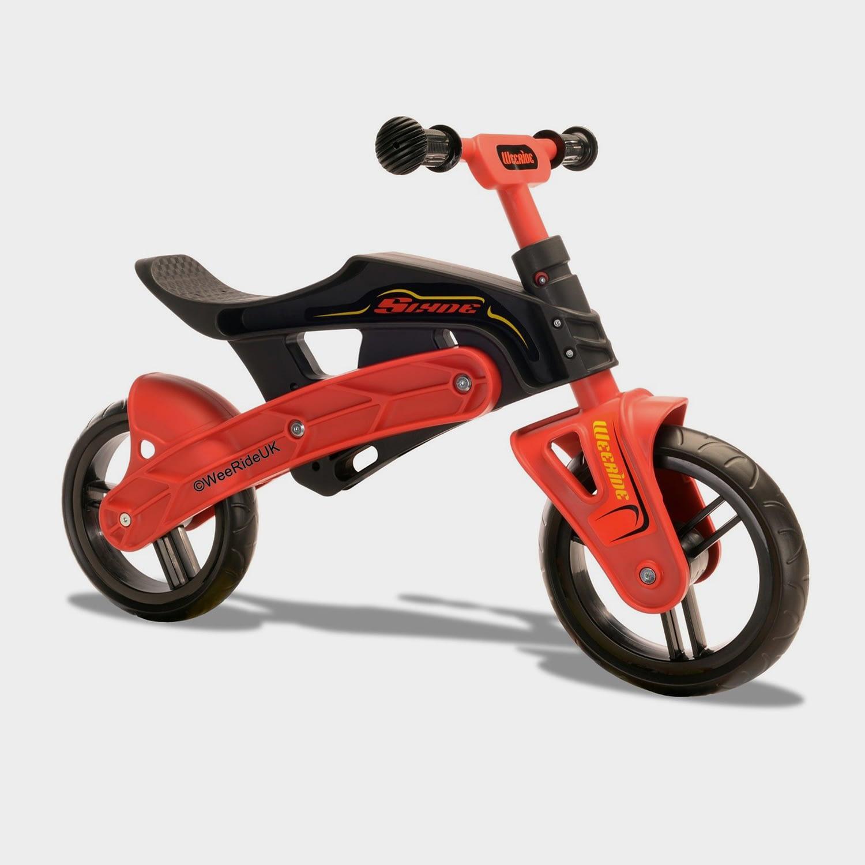 Wee Ride Slyde Balance Bike, BLACK/RED
