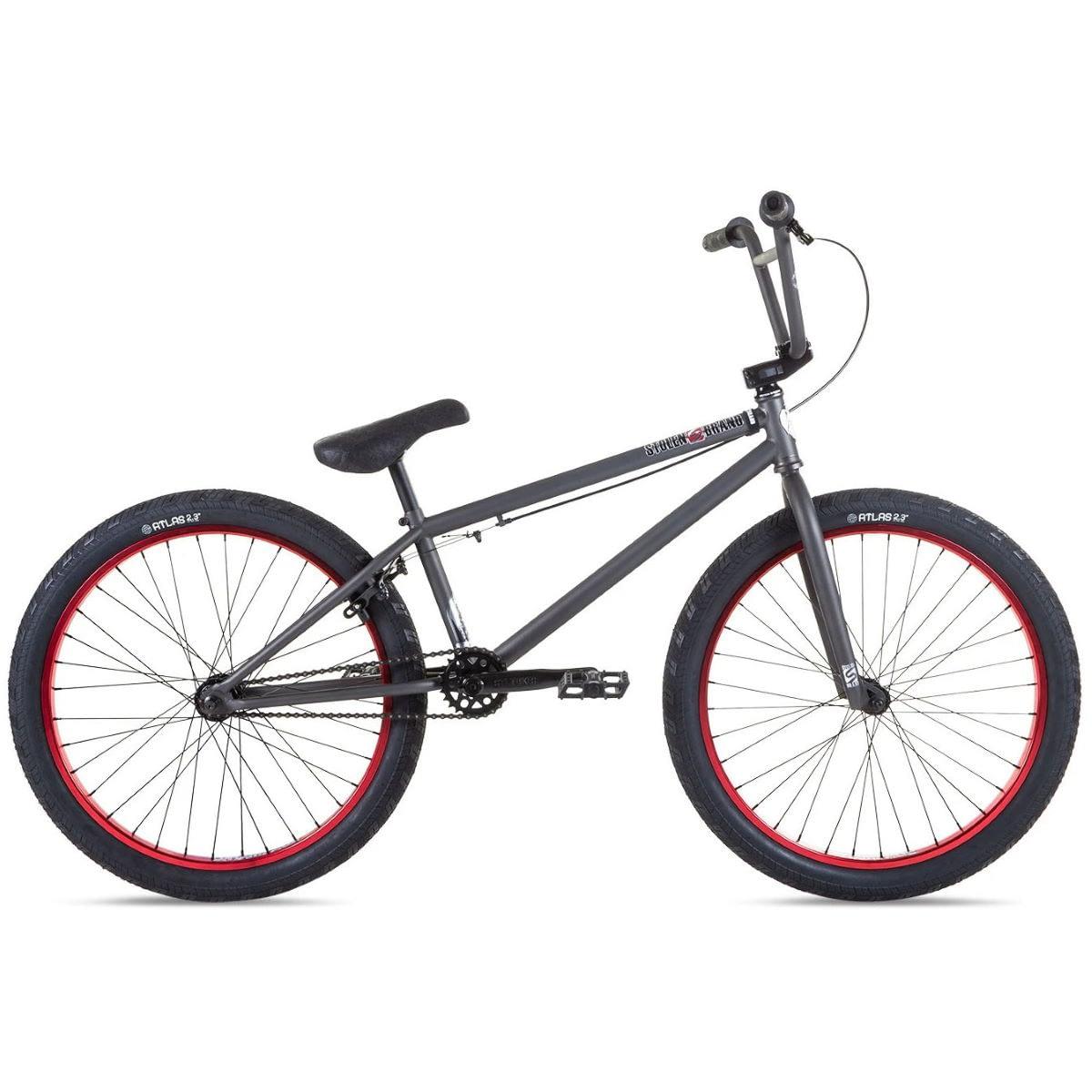 """Stolen Saint 24"""" BMX Bike (2021) Freestyle BMX Bikes"""