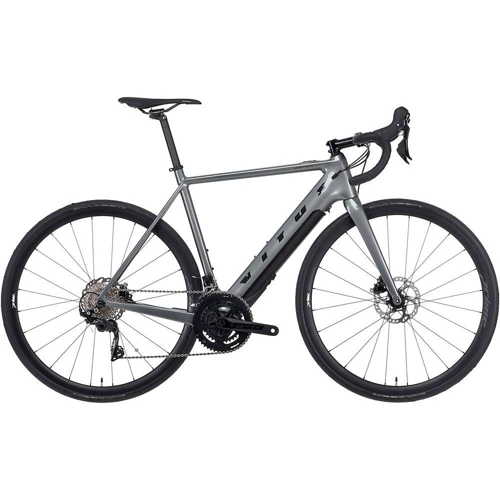 Vitus Emitter Carbon E Road Bike (Fazua) 2021 - Anthracite, Anthracite