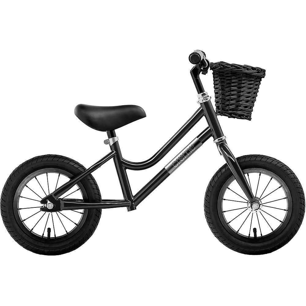 "Creme Micky Balance Bike 2021 - Black - 12"", Black"